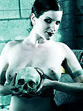 Wicked Evil Big Titty Tattooed Witch Casting Spells